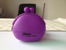 SC Johnson Promotional Gift PVC Silicone Coin Purse