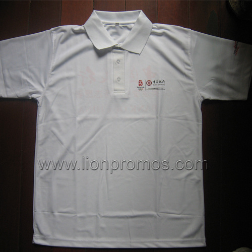Custom Logo Embroidery Promotional 240gsm Cotton Pique Polo Shirt