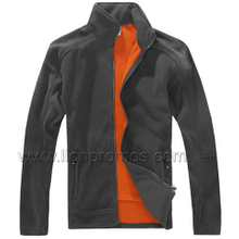 Corporate Logo Embroidery Winter Gift Polar Fleece Jacket
