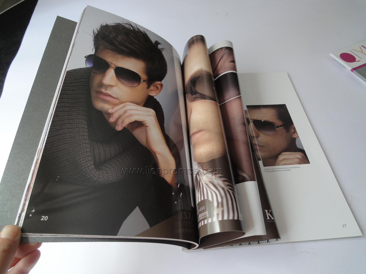 Advertising Art Paper Catalogue,Leaflets Printing