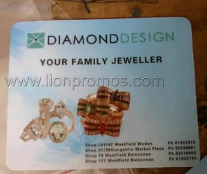 diamond design mouse pad