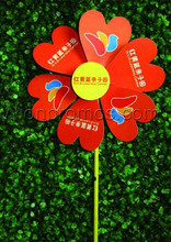 Cheap Children Advertising Pinwheel Gift