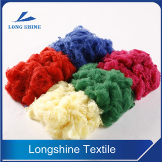 DOPE DYED SOLID POLYESTER FIBER