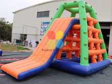 RB32023-1( 4x4x5m )Inflatable Floating Water Climbing Ladder/Inflatable Water Game for sale