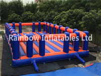 High Quality Outdoor Durable Inflatable Football Field Soccer Arena for Adults