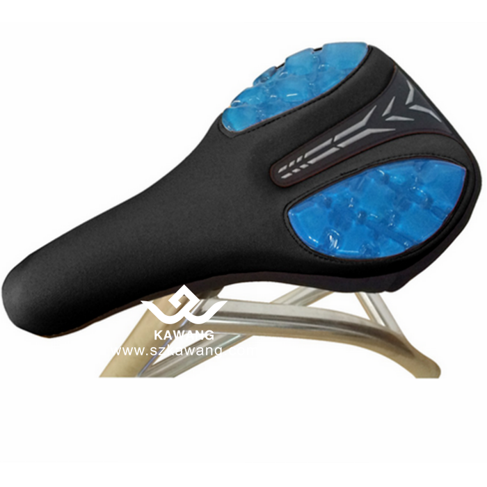Kawang New Silica Gel Cycling Saddle Cover Comfortable Breathable Bike Seat Cushion