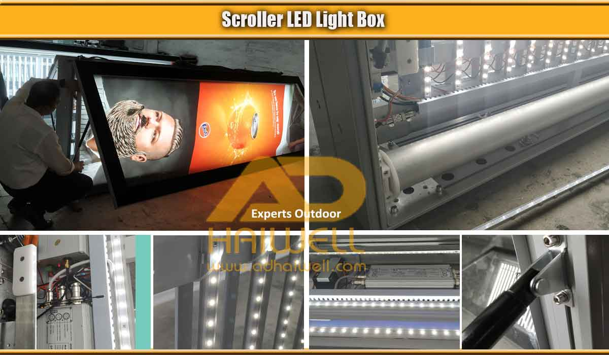 Scrolling-System-Motor-LED-Lighting-Eclairage