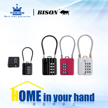 Zinc Alloy Combination Padlock WA814-3