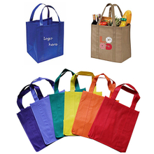 Custom non woven shopping bags with print logo for promotion