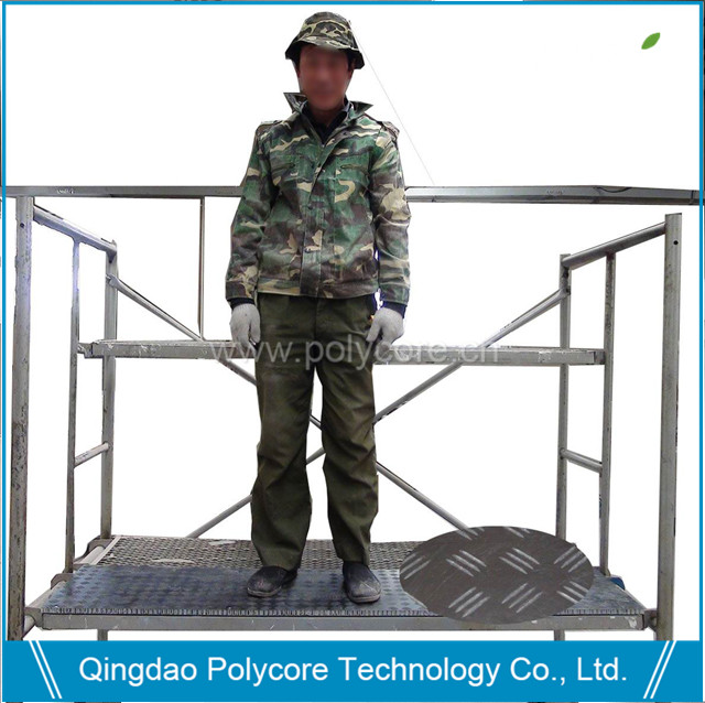 light weight stable scaffolding panel