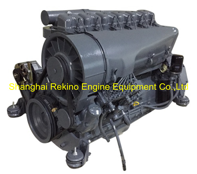 BF6L914C Air cooled diesel engine motor for constuction machinery