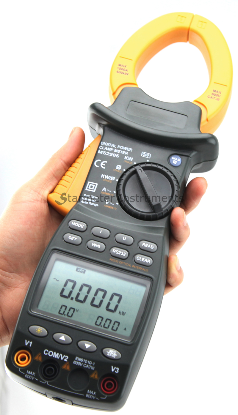 Power Clamp Meters MS2205