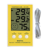 INDOOR/OUTDOOR HYGRO-THERMOMETER CLOCK DC105