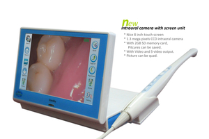 New Intraoral Camera Unit with 8 Inch Touch Screen for Desktop_Camera Intraoral
