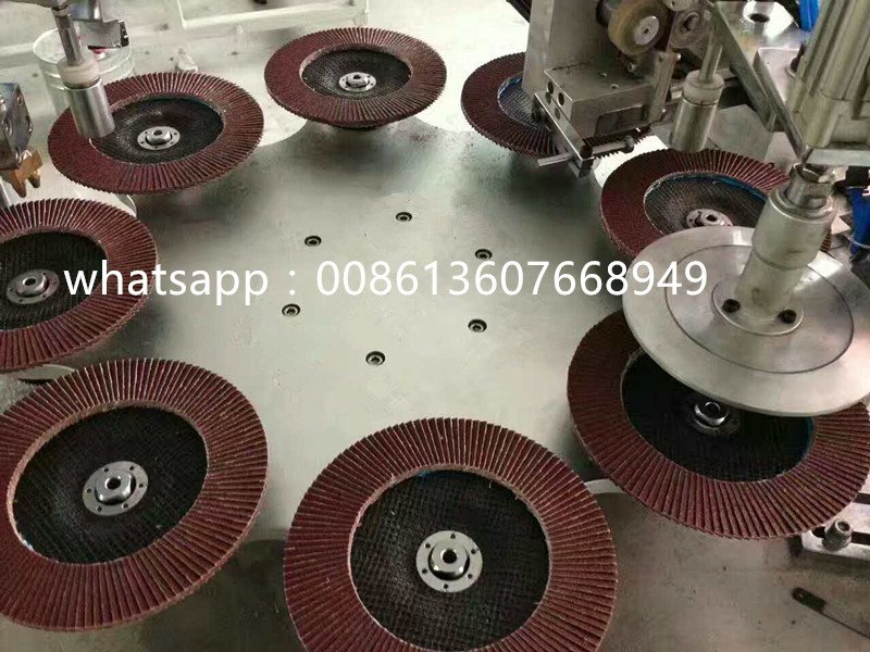 Full-Automatic Flap Disc Production Machine