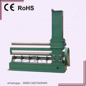 Edge cutting machine for wide belt