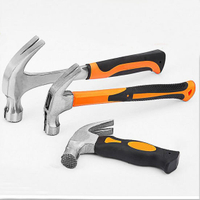 Free Sample Claw Hammer with Multi Style Fiberglass Handle