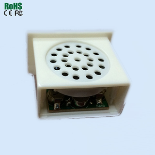ABS Plastic White Color Money Coin Talking Saving Box