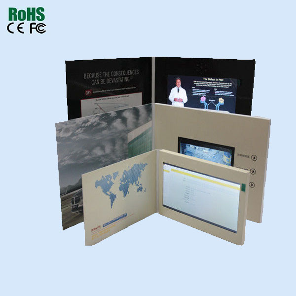 Business Brochure Greeting Promotional Video Card