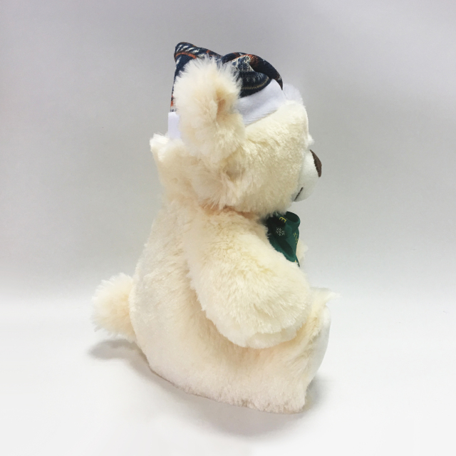 Custom Plush Toy Christmas White Teddy Bear