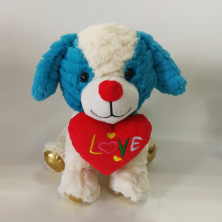 Fluffy Puppy Plush Toy Dogs Stuffed Animals Soft Children Dolls