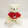 Top selling Teddy Bear Toys with snowman on red Sweater