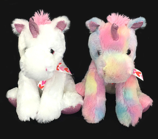 High Quality Colorful Unicorn Ponny Prinssess Plush Toys
