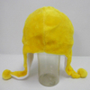 Soft Plush Toy Yellow Duck Winter Hat for Kids