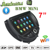 "7""Mini 2015 Car Audio Navigatior Support carplay or Anti-Glare(Optional)"