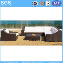 Hotel Outdoor Furniture Rattan Sofa Set Ln-002