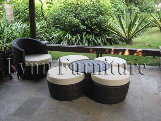 Garden Chair and Table Set (LN-020)