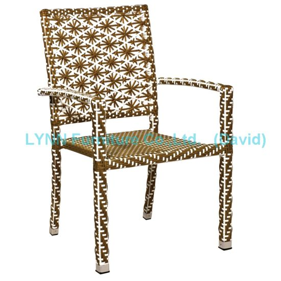 Patio Furniture Poly Rattan Chair Stacking Chair
