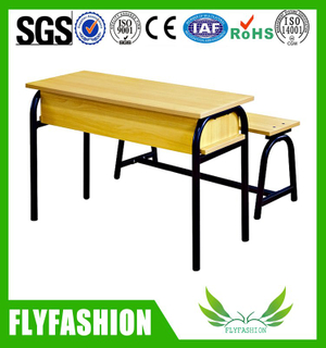 Double School Desk and Chair (SF-26D)