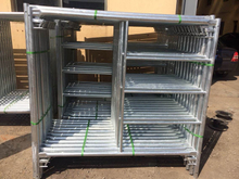 5FT X 5FT Frame Scaffolding Hot DIP Galvanized Hot Seller