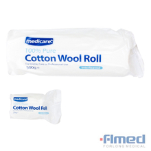 500g Absorbent Medical Cotton Wool Roll