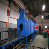 All Sizes LPG Cylinder Normalizing Furnace