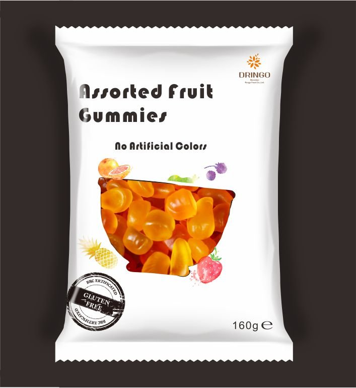 Everyday Assorted Fruit Gummy160g