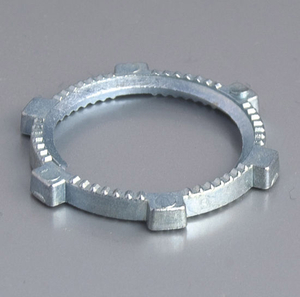 Zinc Rigid Locknut Pipe Fitting