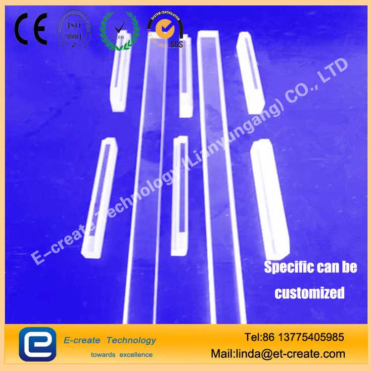 High temperature / high voltage quartz tube (for single crystal furnace electrode protection)