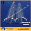 Flammable quartz tube for flammability of intelligent toilet