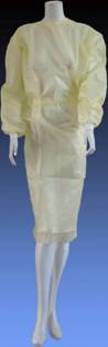 PE Coated Isolation Gown (GW-03)