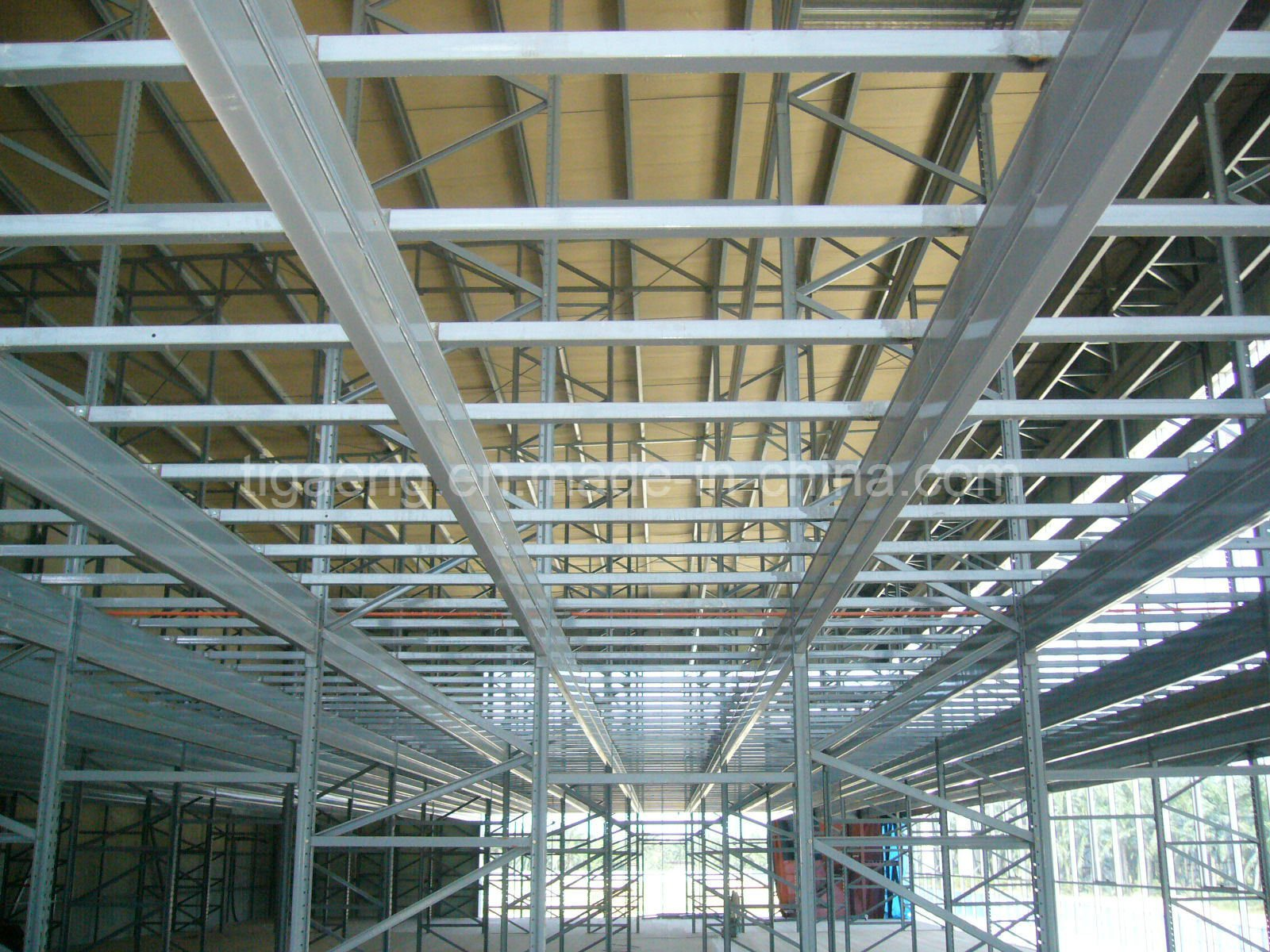 Factory Price Heavy Structure Large Temporary Office/Supermarket for Coate D′ivoire