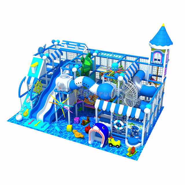 Ocean Theme Amusement Park Indoor Kids Soft Play Структура для продажи