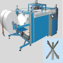 cutting machine for flat woven fabric