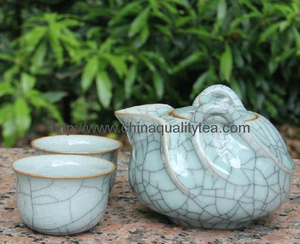 Celadon tea set