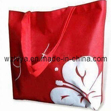 Non Woven Shopping Bag Red (LYN20)