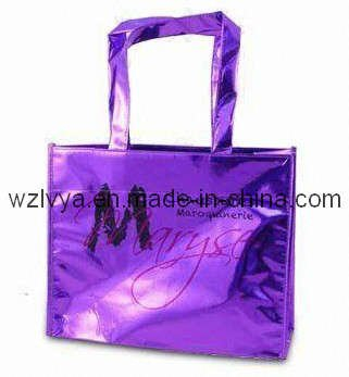 Metallic-Laminated Nonwoven PP Shopping Bag (LYM03)