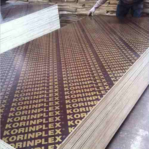 18mm Korinplex Film Faced Plywoods for Shuttering