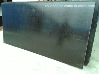 Waterproof Hardwood Core Black Film Faced Plywood for Shuttering (HB010)