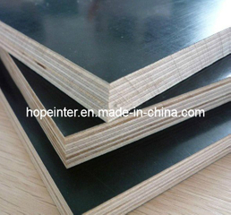 Phenolic Glue Water-Proof Plywood Poplar Core Black Film